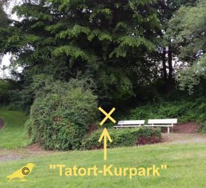 Tatort-Kurpark