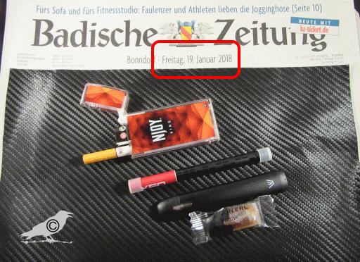 e zigarette systeme
